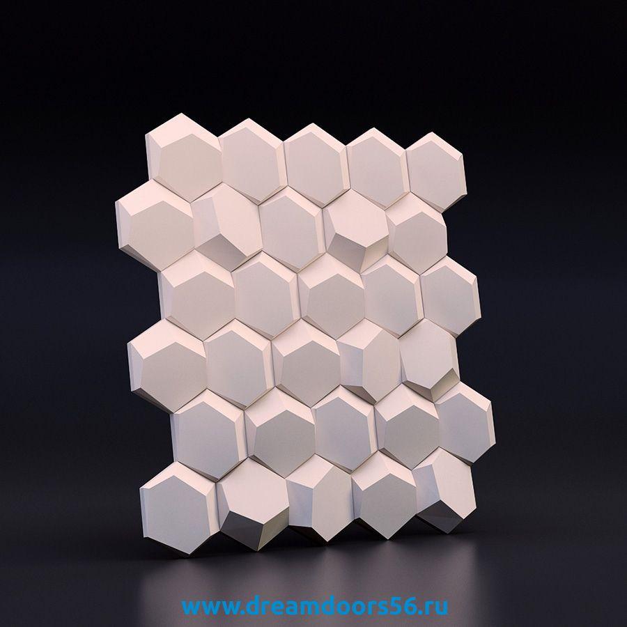 """Гипсовая 3D плитка """"Рози"""""""