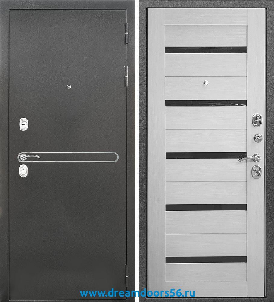 Входная металлическая дверь Сотка Трио Царга